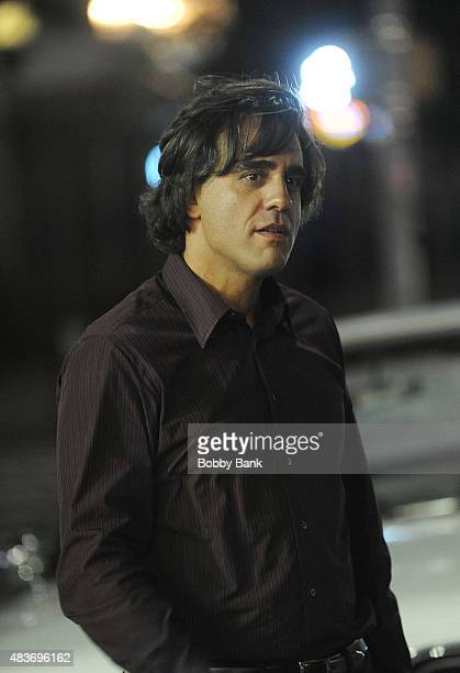 Actor Bobby Cannavale on the set of 'Vinyl' on August 12 2015 in New York City
