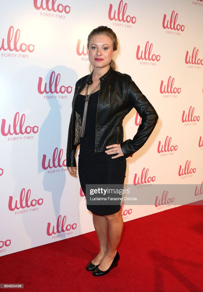 Actor Bonnie Piesse attends Ulloo 42 Launch Party on January 11, 2018 in Los Angeles, California.