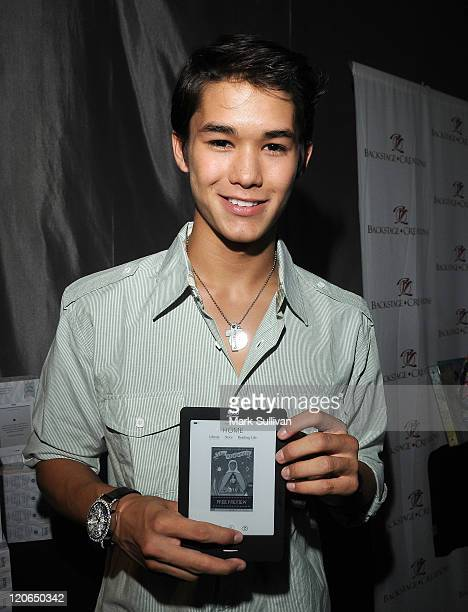 Actor Boo Boo Stewart attends Backstage Creations Celebrity Retreat during Teen Choice 2011 day 2 at Gibson Amphitheatre on August 7 2011 in...