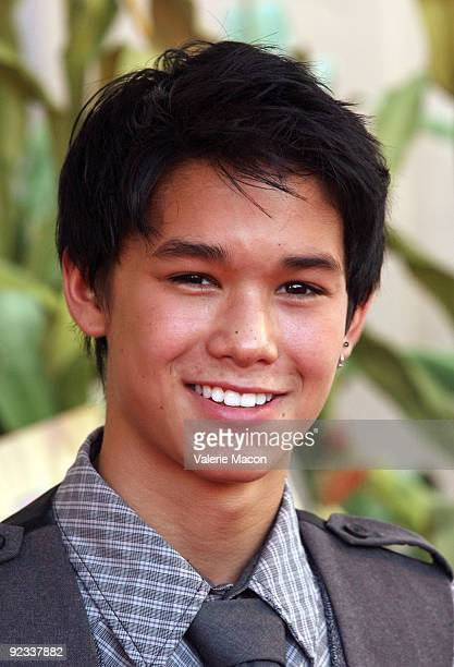 Actor Booboo Stewart arrives at camp Ronald McDonald for good times 17th annual Halloween Carnival at Universal Studios Backlot on October 25 2009 in...