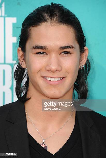 Actor Booboo Stewart arrives at the 2012 MTV Movie Awards at Gibson Amphitheatre on June 3 2012 in Universal City California