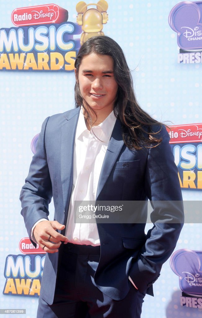 Actor Booboo Stewart arrives at the 2014 Radio Disney Music Awards at Nokia Theatre L.A. Live on April 26, 2014 in Los Angeles, California.