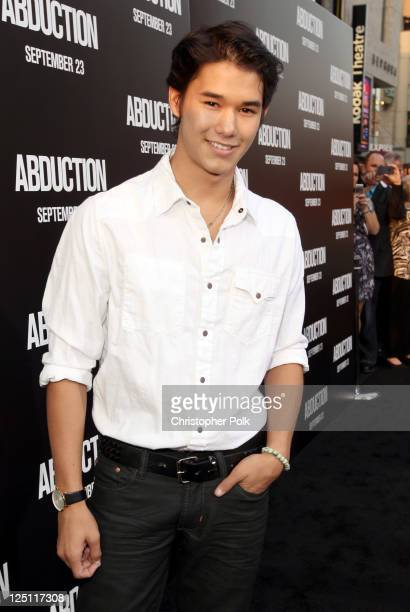 Actor Booboo Stewart arrives at the premiere of Lionsgate Films' 'Abduction' held at Grauman's Chinese Theatre on September 15 2011 in Hollywood...