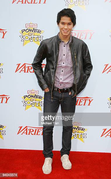 Actor Booboo Stewart arrives to Variety's 3rd Annual Power of Youth event held at the Paramount Studios backlot on December 5 2009 in Los Angeles...