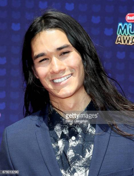 Actor Booboo Stewart attends the 2017 Radio Disney Music Awards at Microsoft Theater on April 29 2017 in Los Angeles California