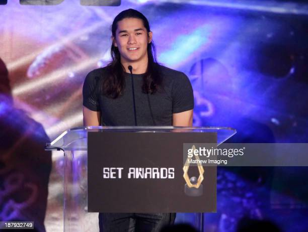Actor Booboo Stewart attends the 3rd Annual SET Awards at the Beverly Hills Hotel on November 13 2013 in Beverly Hills California