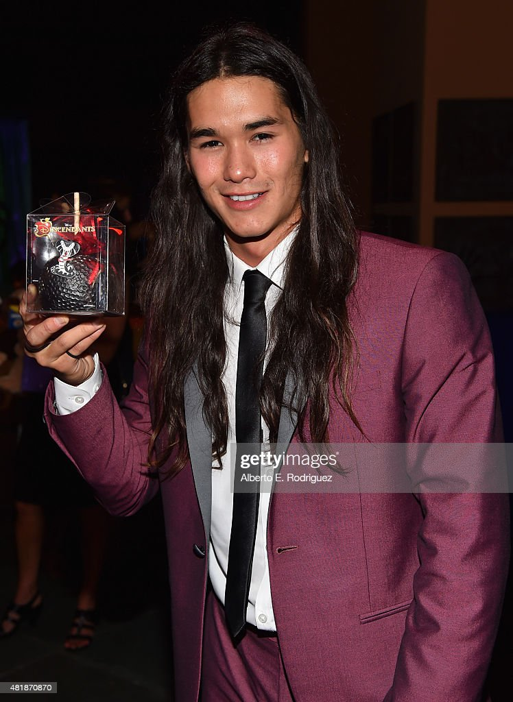 Actor Booboo Stewart attends the after party for the premiere of Disney Channel's 'Descendants' at Walt Disney Studios Main Theater on July 24, 2015 in Burbank, California.