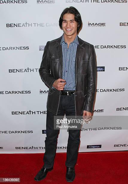 Actor Booboo Stewart attends the 'Beneath The Darkness' world premiere at American Cinematheque's Egyptian Theatre on January 4 2012 in Hollywood...
