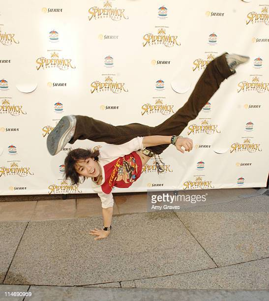 Actor BooBoo Stewart attends the Official Spiderwick Videogame Launch at the Paramount Theater on February 10 2008 in Los Angeles California