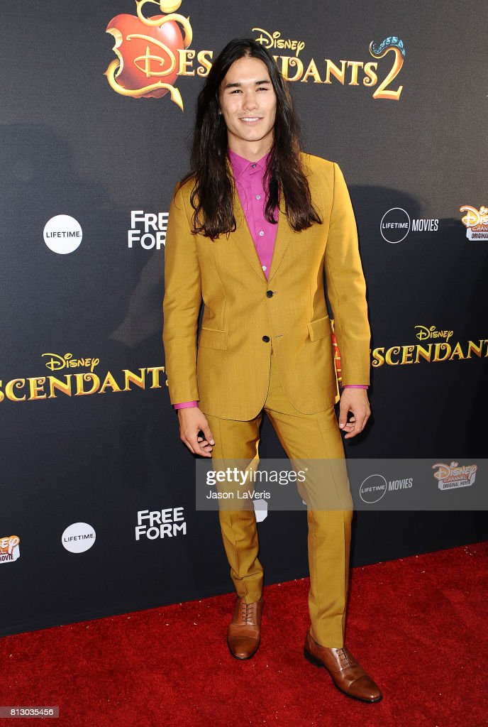 Actor Booboo Stewart attends the premiere of 'Descendants 2' at The Cinerama Dome on July 11, 2017 in Los Angeles, California.