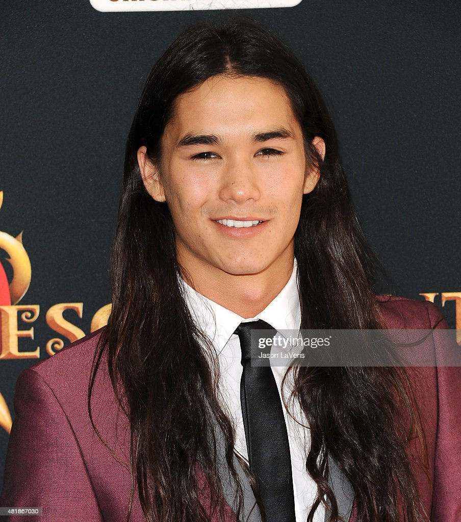 Actor Booboo Stewart attends the premiere of 'Descendants' at Walt Disney Studios Main Theater on July 24, 2015 in Burbank, California.