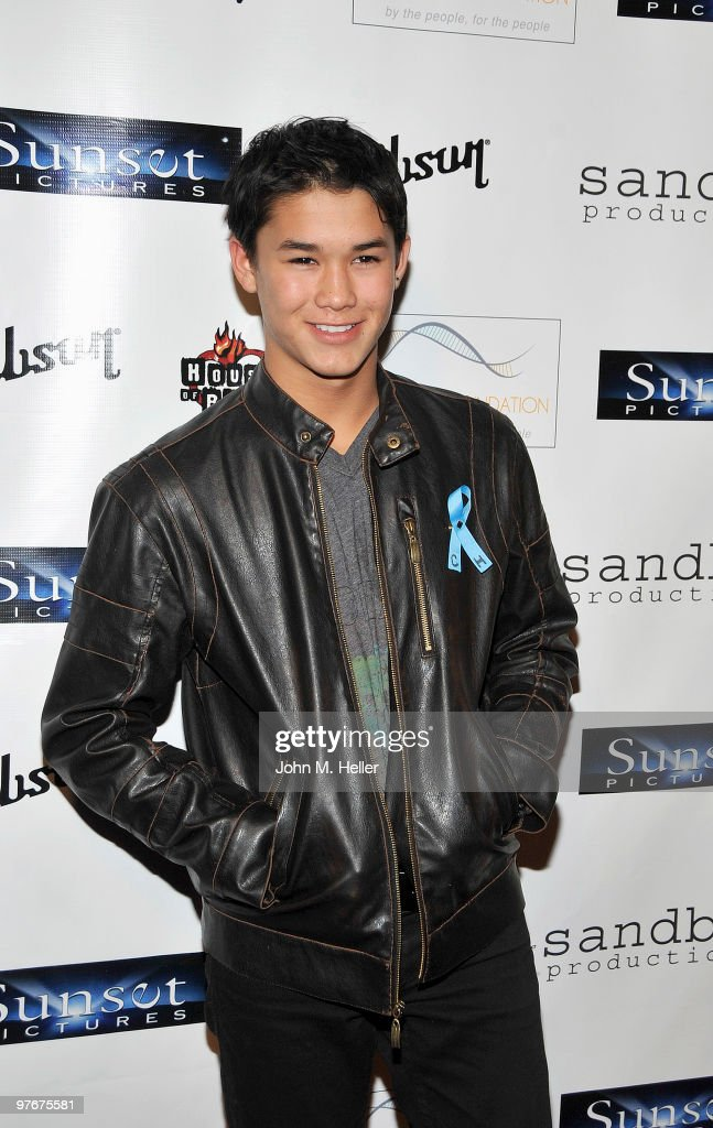 Actor BooBoo Stewart attends the 'Unity For Peace' Benefit Concert at the House Of Blues on March 12, 2010 in Los Angeles, California.