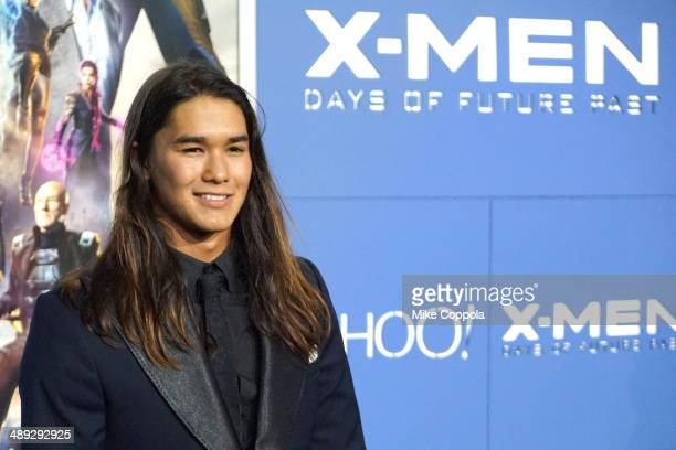 Actor Booboo Stewart attends the 'XMen Days Of Future Past' world premiere at Jacob Javits Center on May 10 2014 in New York City