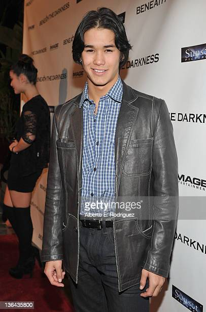 Actor BooBoo Stewart ttends the premiere of 'Beneath The Darkness' at the Egyptian Theatre on January 4 2012 in Hollywood California