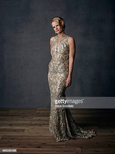 Actor Border Joelle Carter is photographed for Emmy magazine on December 1, 2014 in Los Angeles, California.