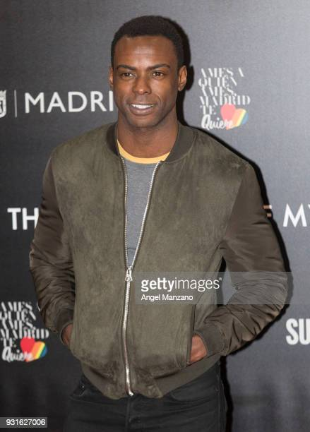 Actor Bore Buika attends 'The Best Day Of My Life' Madrid premiere at Callao cinema on March 13 2018 in Madrid Spain