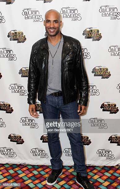 Actor Boris Kodjoe attends day 2 of the 2014 Soul Train Music Awards Gifting Suite at the Orleans Arena on November 7 2014 in Las Vegas Nevada