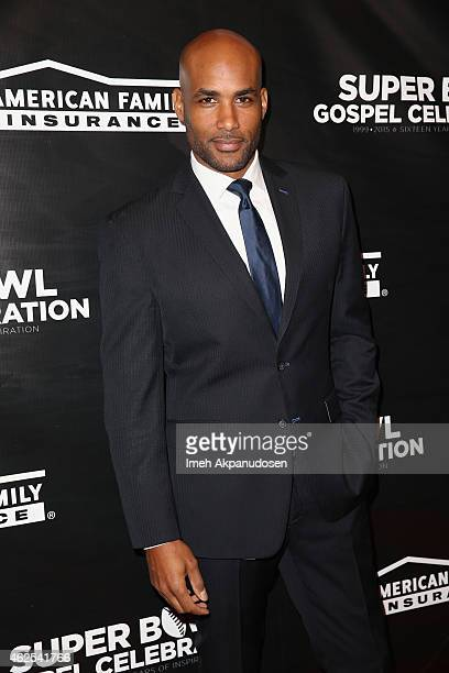 Actor Boris Kodjoe attends the 16th Annual Super Bowl Gospel Celebration at ASU Gammage on January 30 2015 in Tempe Arizona