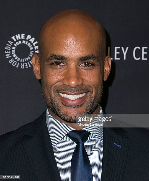 Actor Boris Kodjoe attends The Paley Center for Media Presents an Evening with 'Real Husbands of Hollywood' at The Paley Center for Media on October...