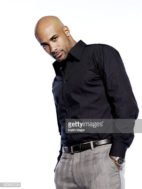 Actor Boris Kodjoe poses for a portrait session on May 27 Los Angeles CA