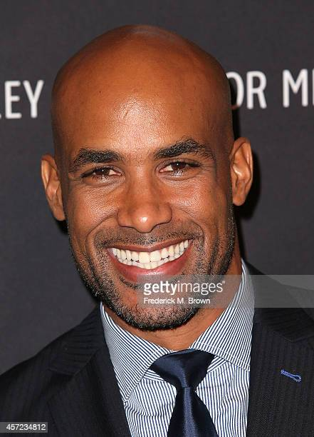 Actor Boris Kodjoe speaks during The Paley Center for Media Presents 'An Evening with Real Husbands of Hollywood' at The Paley Center for Media on...