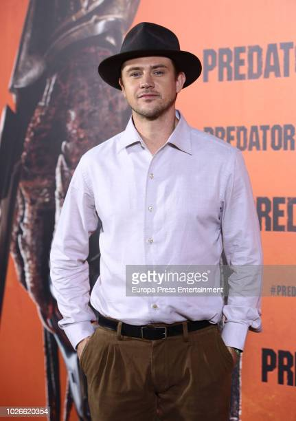 Actor Boyd Holbrook attends 'The Predator' photocall at Villamagna hotel on September 4, 2018 in Madrid, Spain.