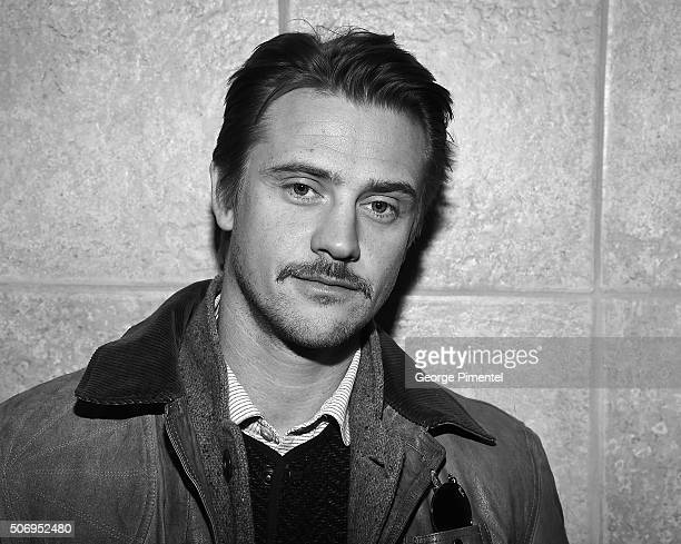 Actor Boyd Holbrook attends the 'The Free World' Premiere during the 2016 Sundance Film Festival at Eccles Center Theatre on January 26 2016 in Park...