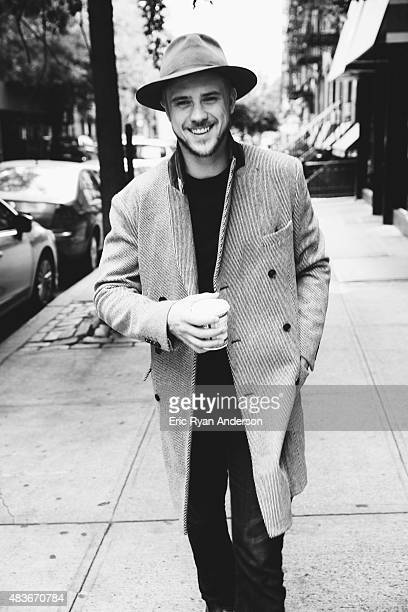 Actor Boyd Holbrook is photographed for Gotham Magazine on September 1 2014 in New York City