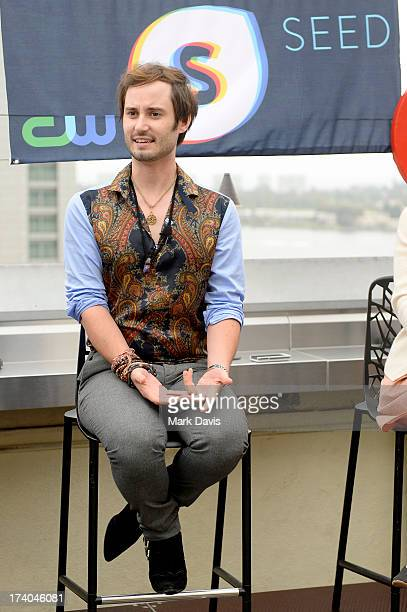 Actor Brad Bell attends BuzzFeed's ComicCon bash presented by CW Seed at San Diego Marriott Gaslamp Quarter on July 19 2013 in San Diego California