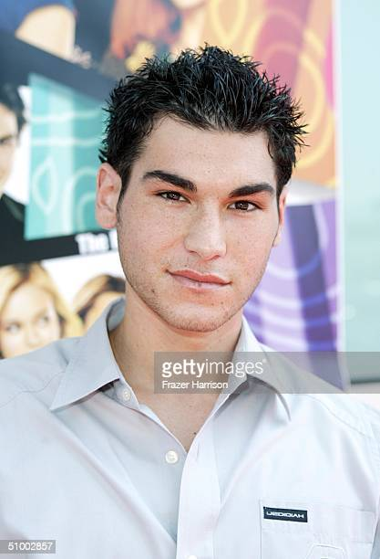 Actor Brad Bufanda arrives for the MGM Premiere of 'Sleepover' at the Archlight Cinerama Dome on June 27 2004 in Hollywood