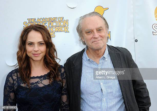 Actor Brad Dourif and daughter Fiona Dourif arrive for the 40th Annual Saturn Awards held at The Castaway on June 26 2014 in Burbank California