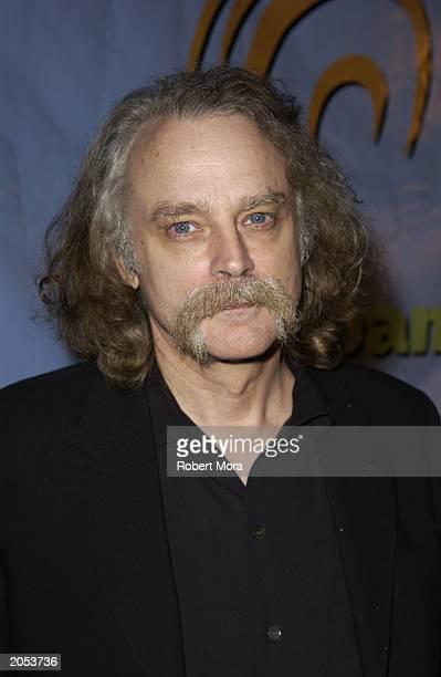Actor Brad Dourif attends a wine tasting and CD release party for Sonoma Uncorked narrated by David Hyde Pierce at Cinespace Club Lounge June 3 2003...