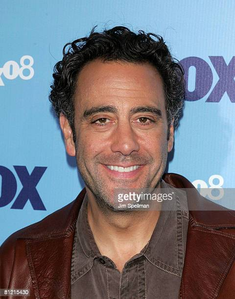 Actor Brad Garrett arrive at the 2008 FOX UpFront at Wollman Rink Central Park on May 15 2008 in New York City