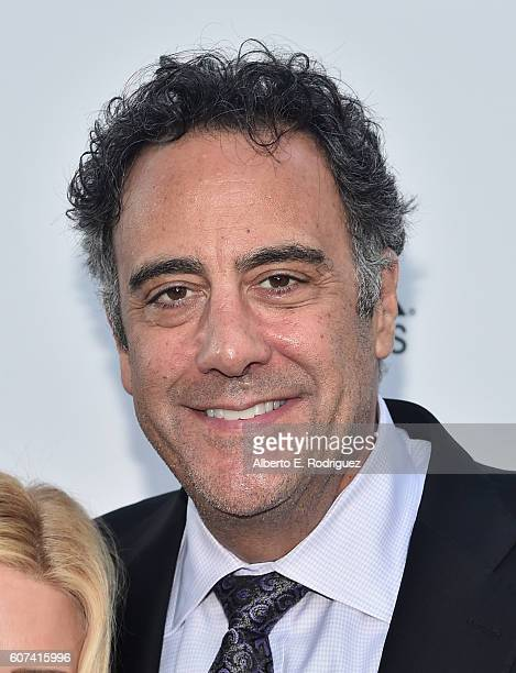 Actor Brad Garrett attends the Vanity and FX Annual Primetime Emmy Nominations Party at Craft Restaurant on September 17 2016 in Beverly Hills...