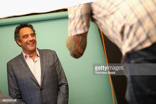 Actor Brad Garrett of FX's 'Fargo' attends the Getty Images Portrait Studio powered by Samsung Galaxy at 2015 Summer TCA's at The Beverly Hilton...