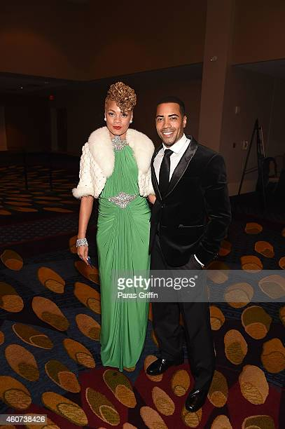 Actor Brad James attends the 31st Annual UNCF Mayor's Masked Ball at Marriott Marquis Hotel on December 20 2014 in Atlanta Georgia