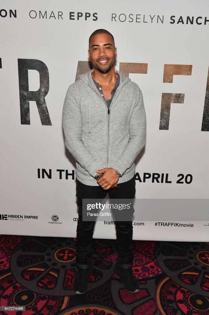 Actor Brad James attends 'Traffik' Atlanta VIP Screening at Regal Atlantic Station on April 16, 2018 in Atlanta, Georgia.