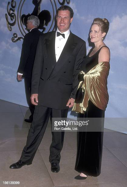 Actor Brad Johnson and wife Laurie Johnson attend the 2000 Carousel of Hope Ball to Benefit the Barbara Davis Center for Childhood Diabetes...