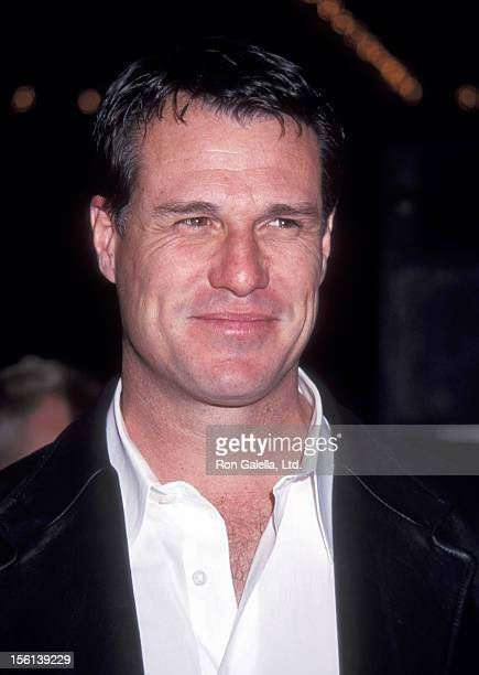 Actor Brad Johnson attends the '15 Minutes' Century City Premiere on March 1 2001 at Loews Cineplex Century Plaza Theatres in Century City California