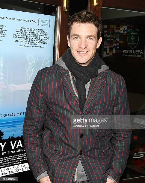 Actor Brad Johnson attends the after party of the premiere of Happy Valley at 6th Ward March 2 2008 in New York City