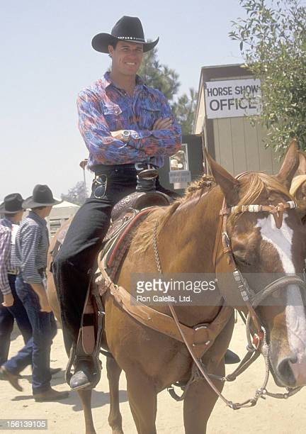 Actor Brad Johnson attends the Ben Johnson ProCelebrity Rodeo and Gala Weekend to Benefit the Permanent Charities Committee of the Entertainment...