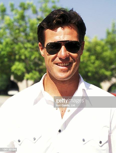 Actor Brad Johnson attends the CBS Summer TCA Press Tour on July 24 1995 at RitzCarlton Hotel in Pasadena California