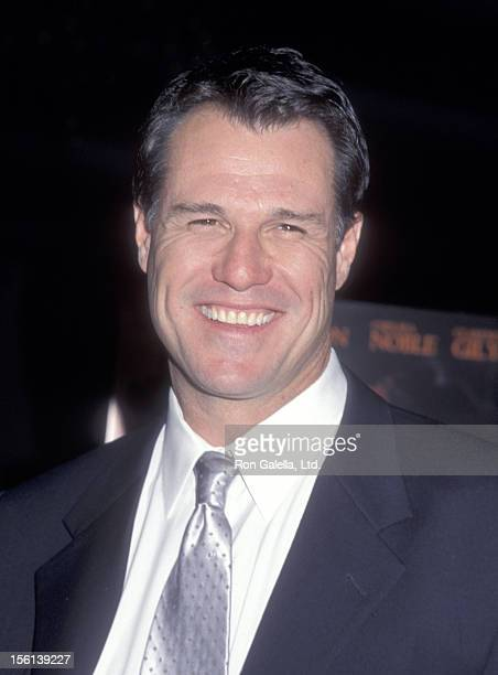 Actor Brad Johnson attends the 'Left Behind' Los Angeles Premiere at DGA Theatre on January 26 2001 in Los Angeles California