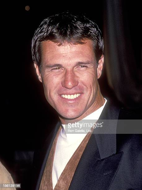 Actor Brad Johnson attends the 'Love Affair' West Hollywood Premiere on October 13 1994 at DGA Theatre in West Hollywood California