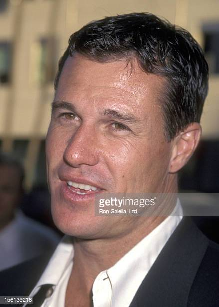 Actor Brad Johnson attends the Screening of the TNT Original Movie 'Rough Riders' on July 17 1997 at Academy Theatre in Beverly Hills California