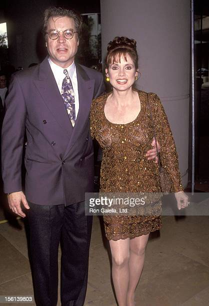 Actor Brad Maule and Actress Jacklyn Zeman attend the Ninth Annual Soap Opera Digest Awards on February 26 1993 at Beverly Hilton Hotel in Beverly...