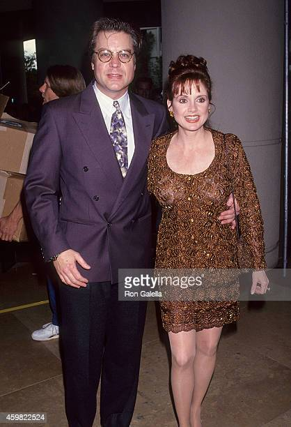Actor Brad Maule and actress Jacklyn Zeman attend the Ninth Annual Soap Opera Digest Awards on February 26 1993 at the Beverly Hilton Hotel in...