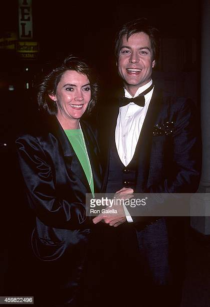 Actor Brad Maule and wife Laverne Nix attend the 16th Annual Los Angeles Drama Critics Circle Awards on April 22 1985 at Variety Arts Center in Los...