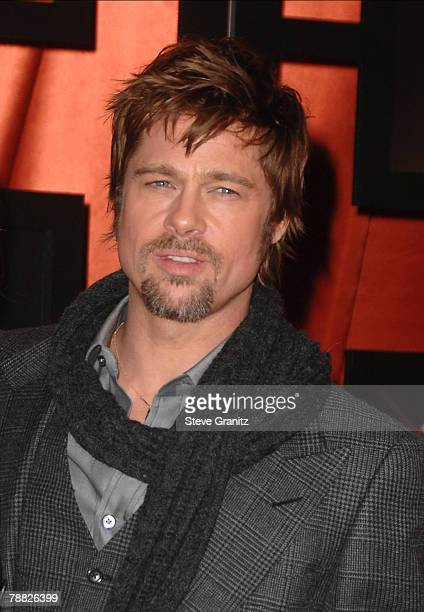 Actor Brad Pitt arrives at the 13th ANNUAL CRITICS' CHOICE AWARDS at the Santa Monica Civic Auditorium on January 7, 2008 in Santa Monica, California.