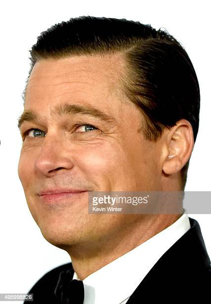Actor Brad Pitt arrives at the AFI FEST 2015 presented by Audi opening night gala premiere of Universal Pictures' 'By The Sea' at the Chinese Theatre...